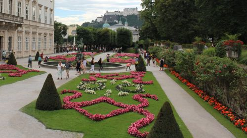 Salzburg City: Mirabellgarden © echonet.at / Roland Vidmar