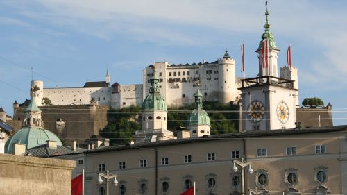 Salzburg City: Fortress Castle of Hohensalzburg © echonet.at / Roland Vidmar